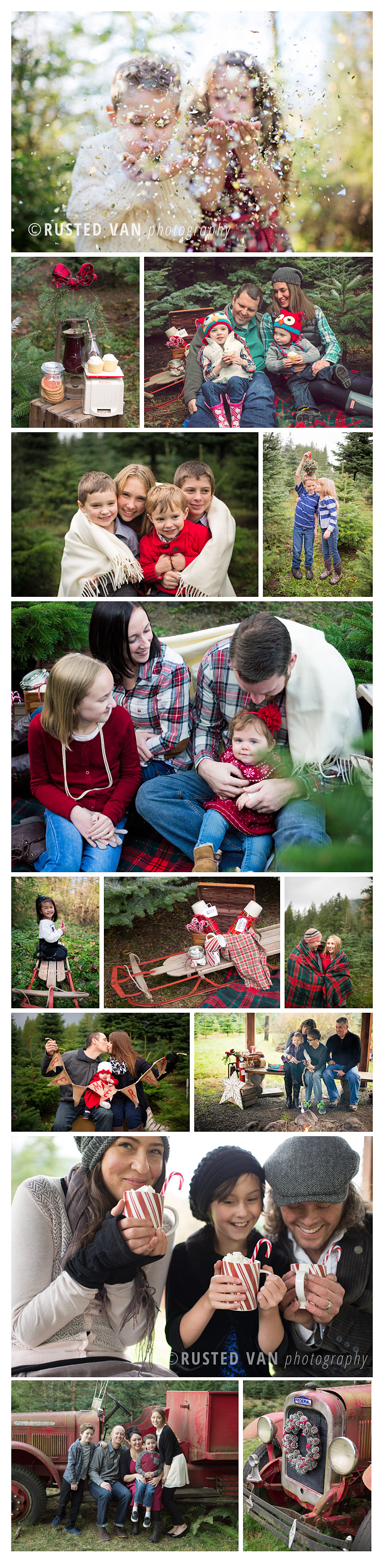 Christmas Mini Sessions {by Rusted Van Photography}