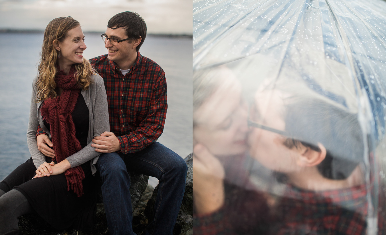 Weddings and Engagements -15 - Washington Engagement Session Rainy Seattle Engagement Photography