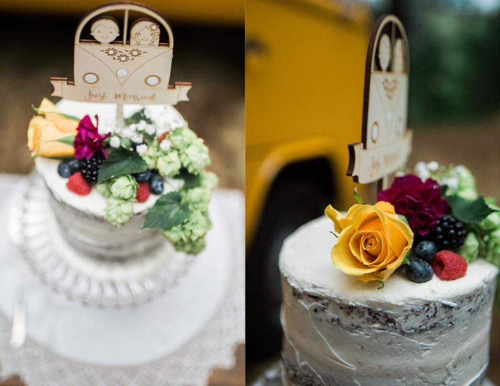 Volkswagen Van Wedding Cake